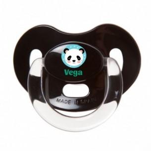 Chupete Panda Negro Premium